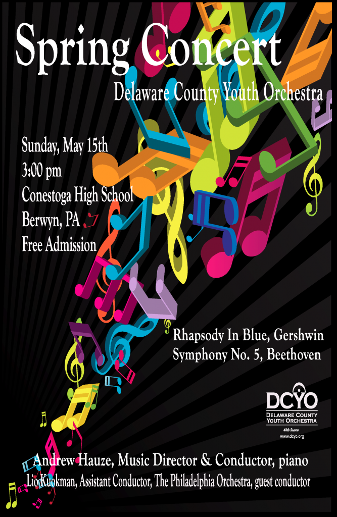 DCYO 2015 Spring Concert Poster