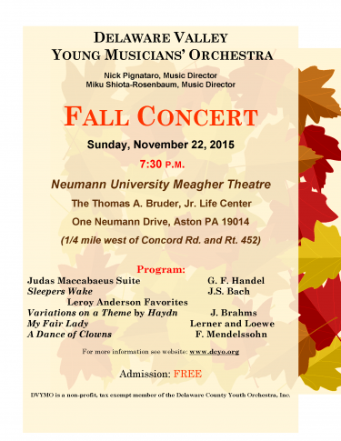 YMO Fall Poster 2015
