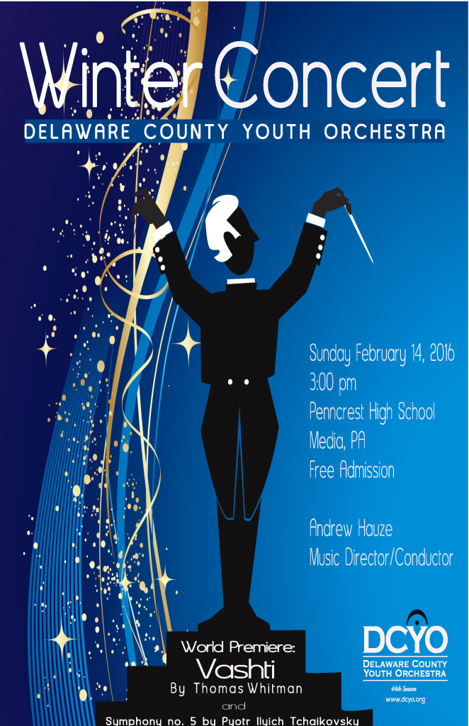 DCYO 2015 Winter Concert Poster